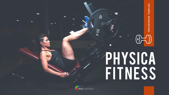 Physical Fitness Simple PowerPoint Templates_01