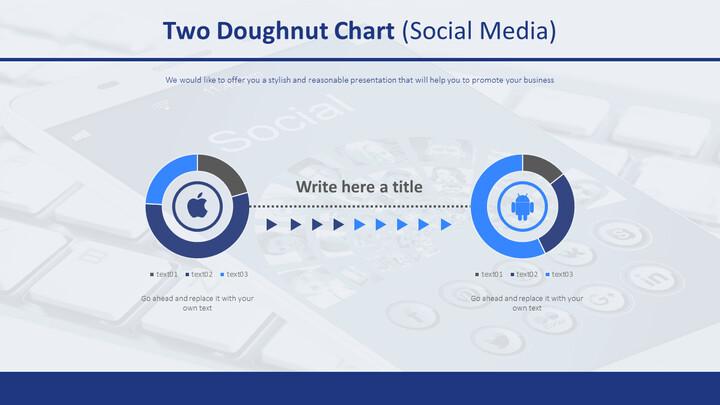 두 개의 도넛 형 차트 (소셜 미디어)_02