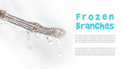 하얀 겨울 심플한 파워포인트 템플릿 디자인_05