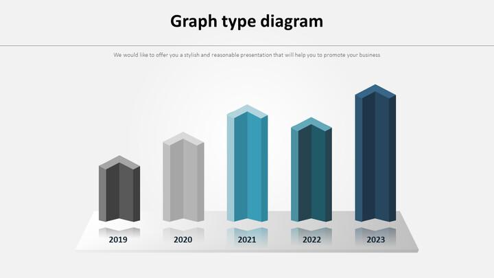 3D Bar Infographic 다이어그램_01