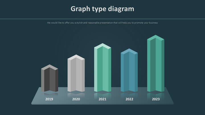 3D Bar Infographic 다이어그램_02