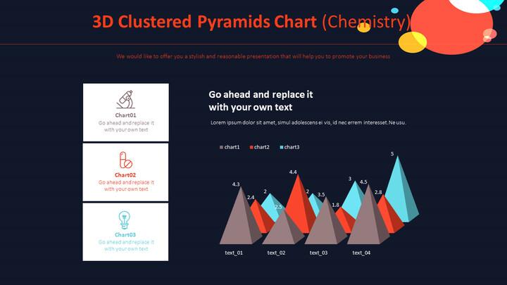 3D 클러스터 피라미드 차트 (화학)_01