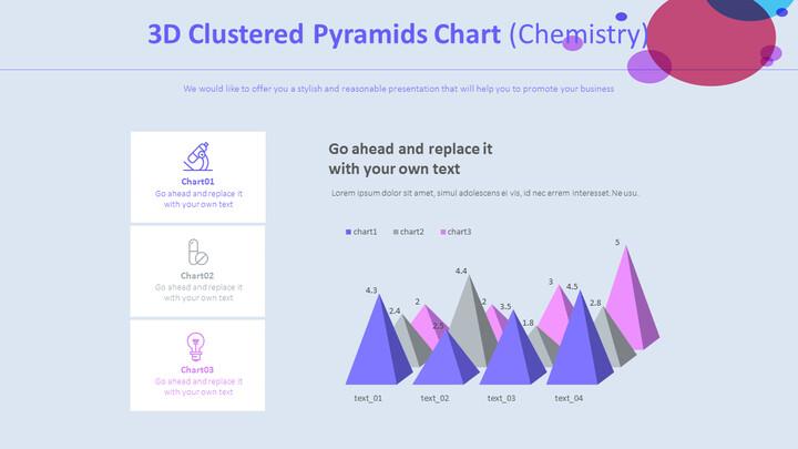 3D 클러스터 피라미드 차트 (화학)_02
