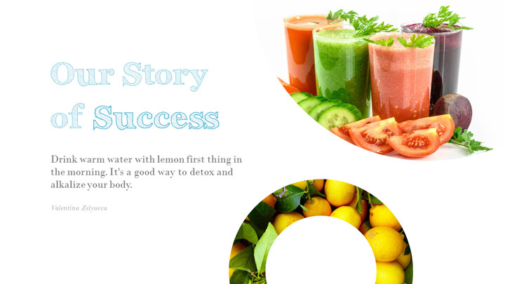 Detox Water PowerPoint Templates Design_02