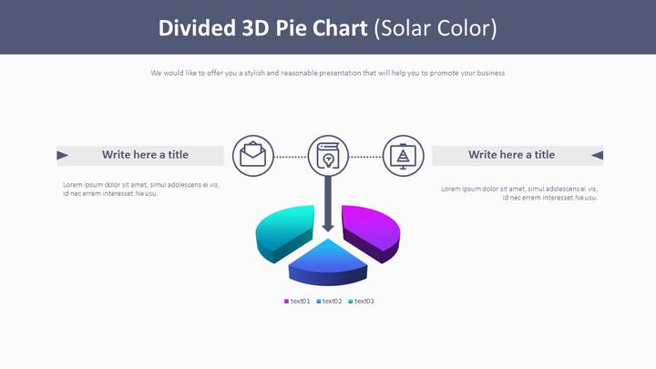 분할 된 3D 원형 차트 (태양열 색상)_01