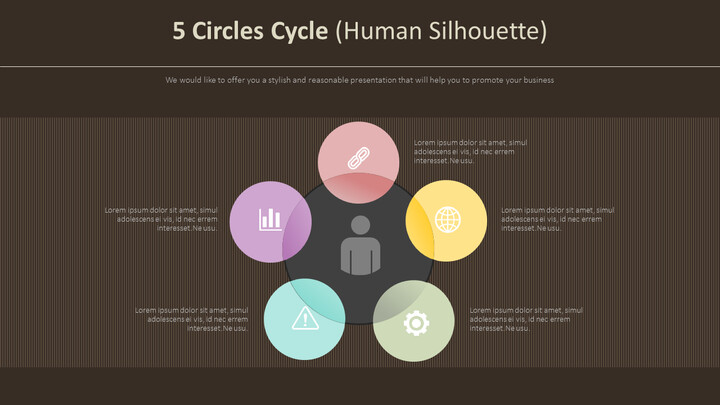 5 Circles Cycle Diagram (Human Silhouette)_02