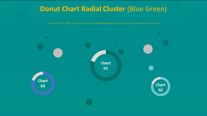도넛 형 차트 방사형 클러스터 (파란색)_02