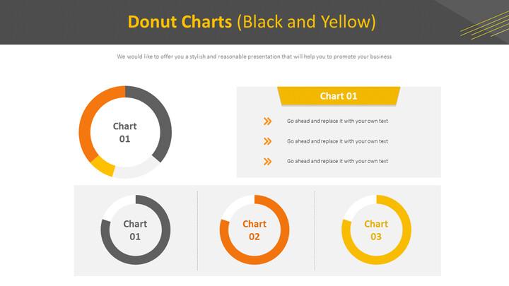 도넛 형 차트 (흑백)_01