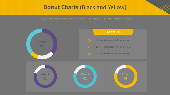 도넛 형 차트 (흑백)_02