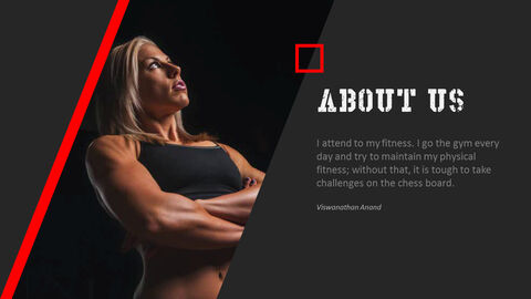 Gym and Fitness PowerPoint Templates for Presentation_03