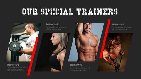 Gym and Fitness PowerPoint Templates for Presentation_05