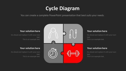 체육관과 피트니스 프레젠테이션용 PowerPoint 템플릿_16