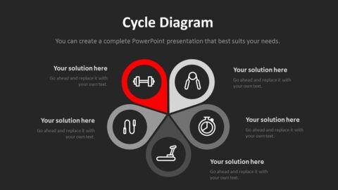 체육관과 피트니스 프레젠테이션용 PowerPoint 템플릿_17