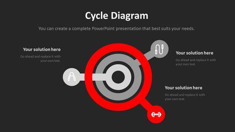 체육관과 피트니스 프레젠테이션용 PowerPoint 템플릿_19