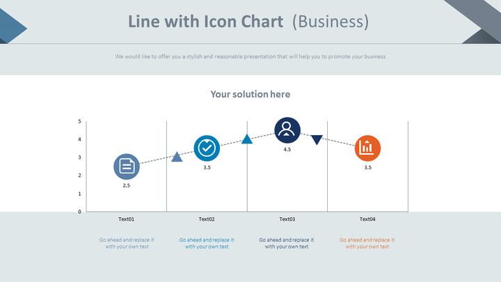 아이콘 차트가있는 선 (비즈니스)_01