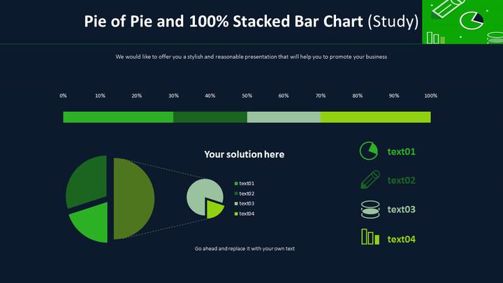 파이 파이 및 100 % 누적 막 대형 차트 (연구)_01
