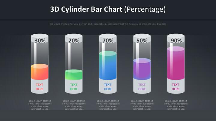 3D 실린더 바 다이어그램 (백분율)_02