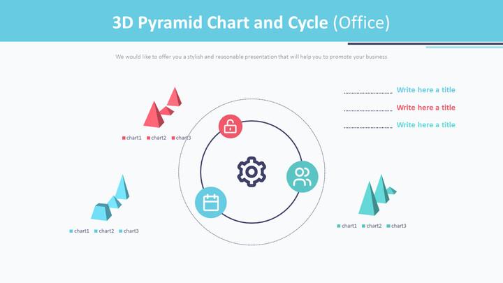 3D 피라미드 형 차트 및주기 (Office)_01