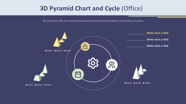 3D 피라미드 형 차트 및주기 (Office)_02