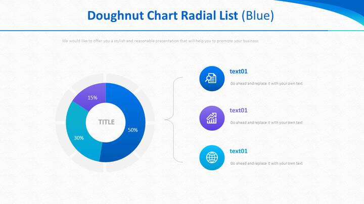 Doughnut Chart Radial List (Blue)_01