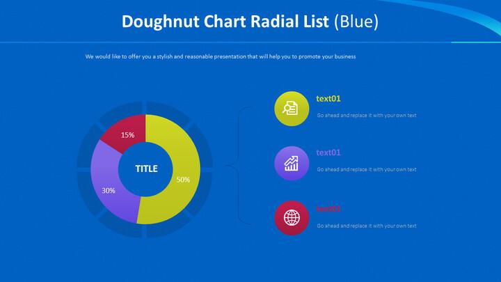 도넛 형 차트 방사형 목록 (파란색)_02