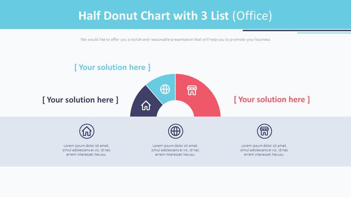3 개의 목록이있는 반 도넛 형 차트 (Office)_01