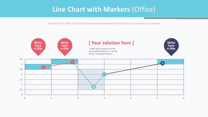 마커가있는 꺾은 선형 차트 (Office)_01