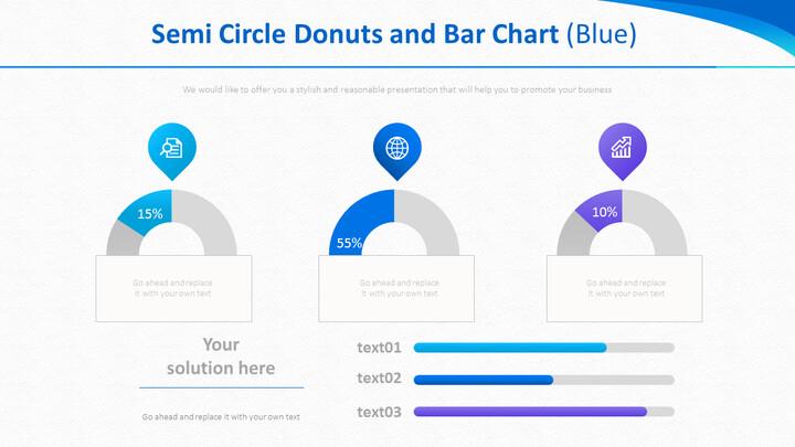 반원형 도넛 및 막 대형 차트 (파란색)_01