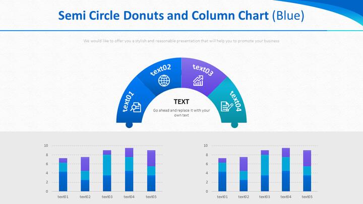 반원형 도넛 및 세로 막 대형 차트 (파란색)_01
