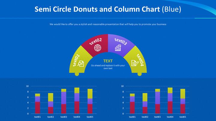 반원형 도넛 및 세로 막 대형 차트 (파란색)_02