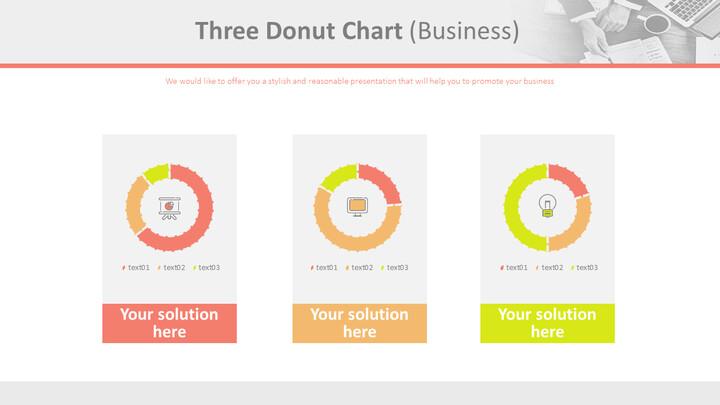 3 개의 도넛 형 차트 (비즈니스)_02