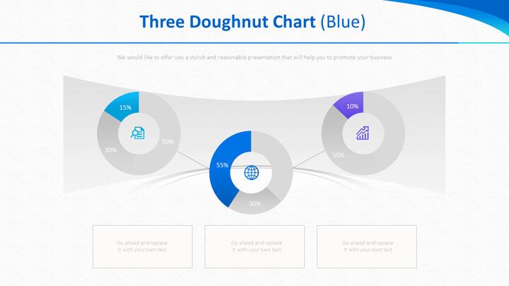 3 개의 도넛 형 차트 (파란색)_01