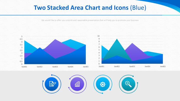 두 개의 누적 영역 차트 및 아이콘 (파란색)_01