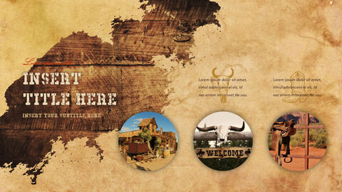 Wild West Theme Presentation Templates_05