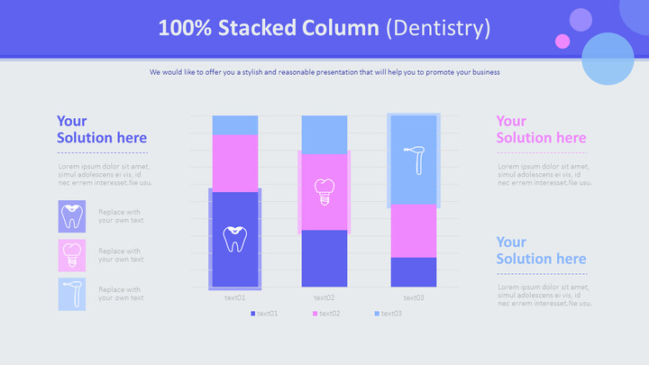 100% Stacked Column (Dentistry)_01