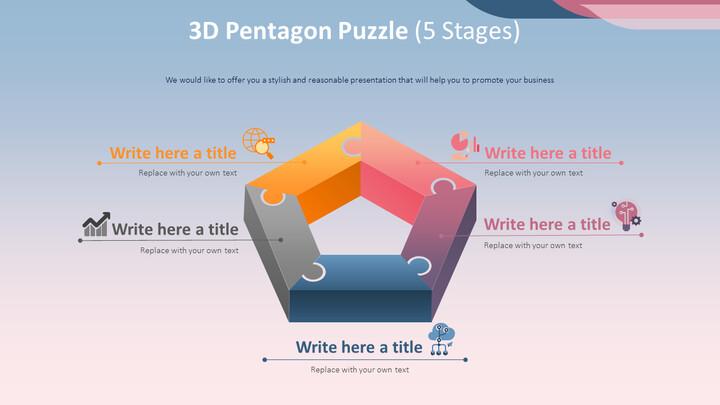3D 펜타곤 퍼즐 다이어그램 (5 단계)_02