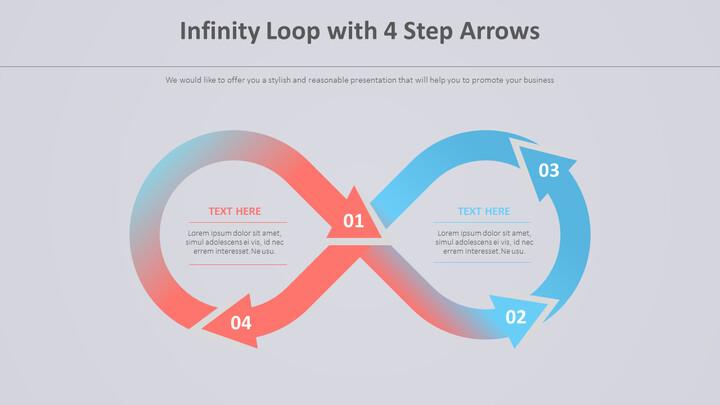 4 단계 화살표가있는 무한 루프 다이어그램_02