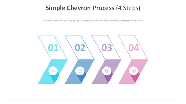 간단한 쉐브론 프로세스 다이어그램 (4 단계)_01