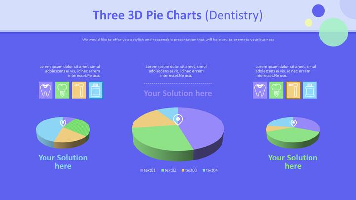 3 개의 3D 파이 차트 (치과)_02