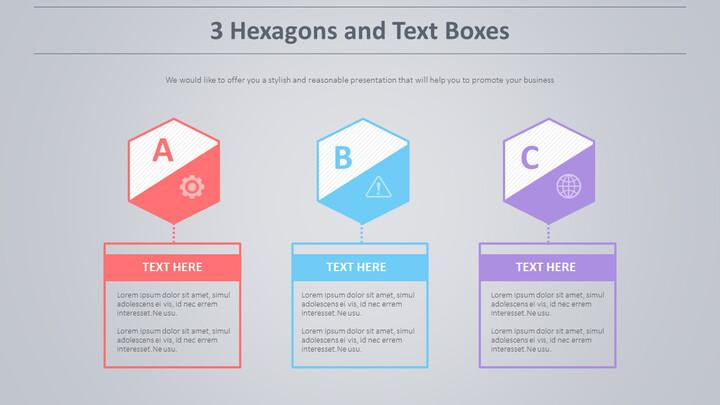 3 육각형과 텍스트 상자 다이어그램_02