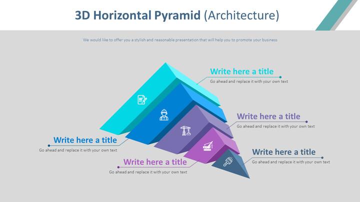 3D 가로 피라미드 다이어그램 (건축)_02