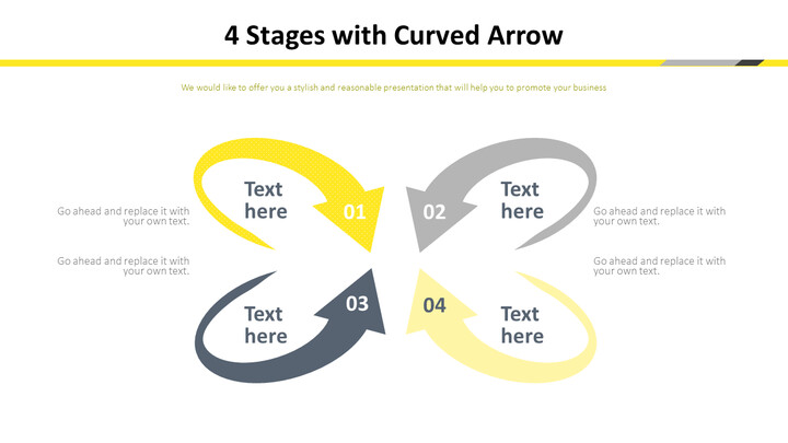 4 Stages with Curved Arrow Diagram_01