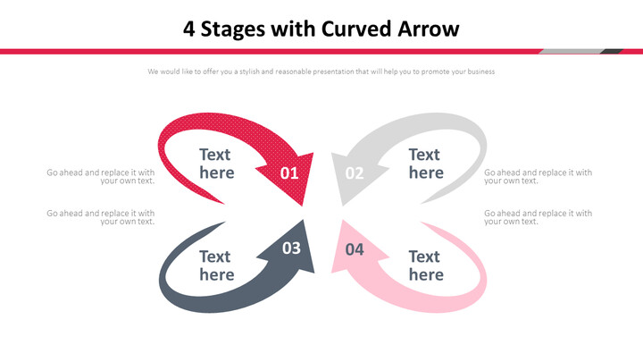 4 Stages with Curved Arrow Diagram_02