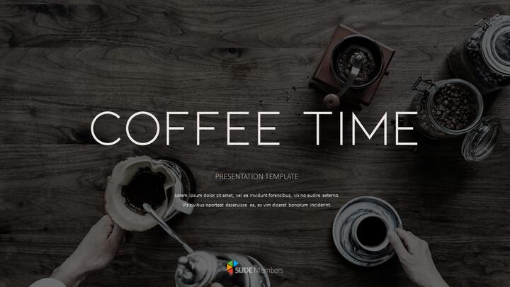 커피 타임 PPT 프레젠테이션_01