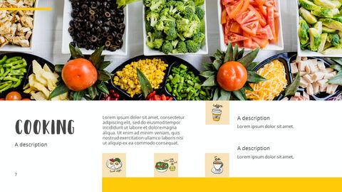 다양한 요리 (요식업) 파워포인트 템플릿 멀티디자인_03