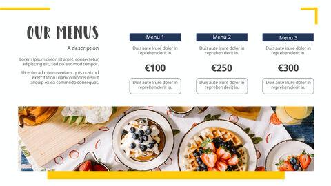 다양한 요리 (요식업) 파워포인트 템플릿 멀티디자인_05