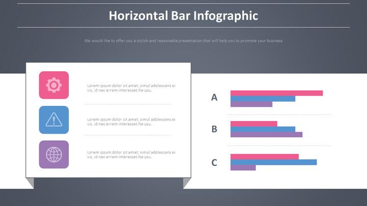 수평 <span class=\'highlight\'>바</span> Infographic 다이어그램_01