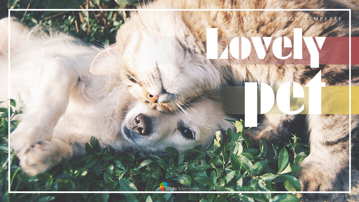 Lovely Pet Simple PowerPoint Templates_01