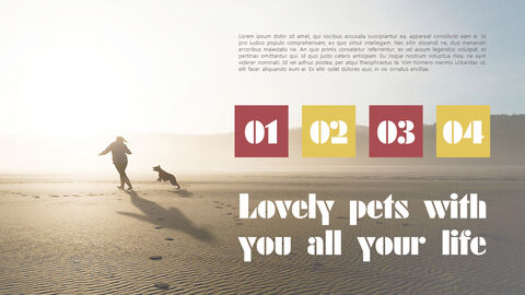 Lovely Pet Simple PowerPoint Templates_05