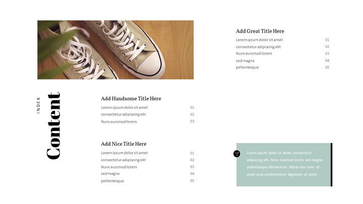 Men\'s Style & Fashion Presentation PowerPoint Templates Design_02